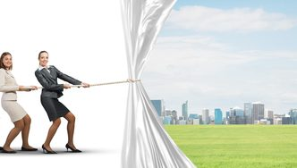 Behind the Curtain: 4 Steps to Business Success