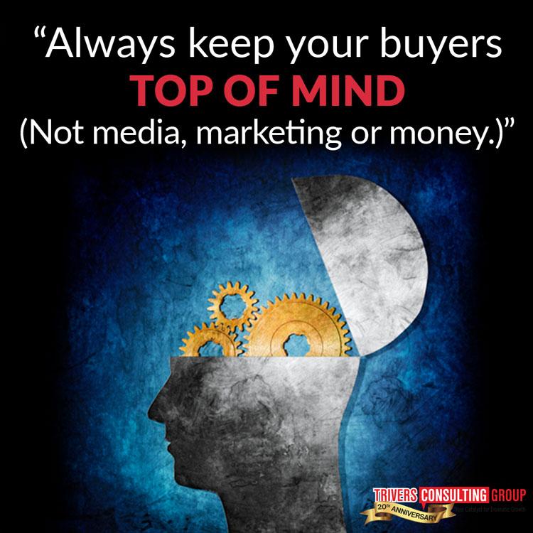 Always keep your buyers