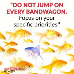 Focus on your priorities