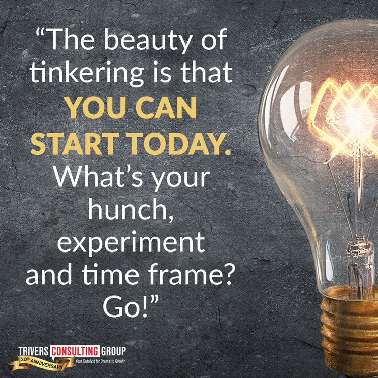Tinker beauty of tinkering