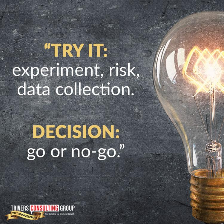 Decision go or no